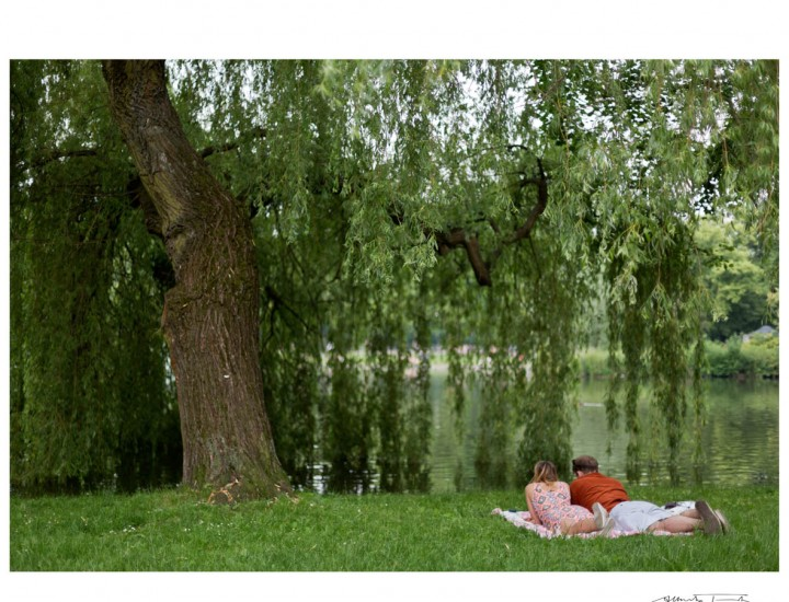 Passeggiando nel parco a Breslavia