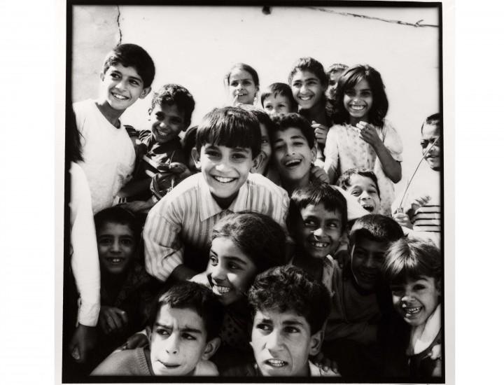 Bambini a Saddam city