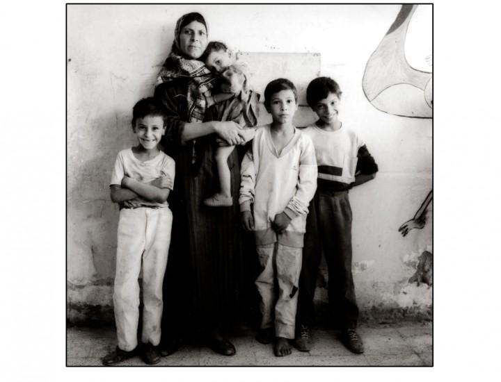 La Bidella con i suoi figli