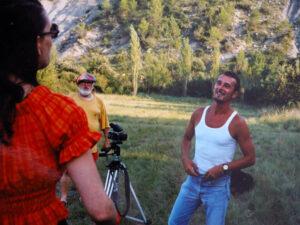 Con Bernie e Jackie 1995