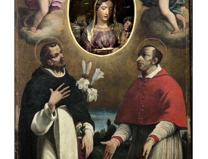 Il dipinto nell'antica Pieve di San Pietro di Roffeno